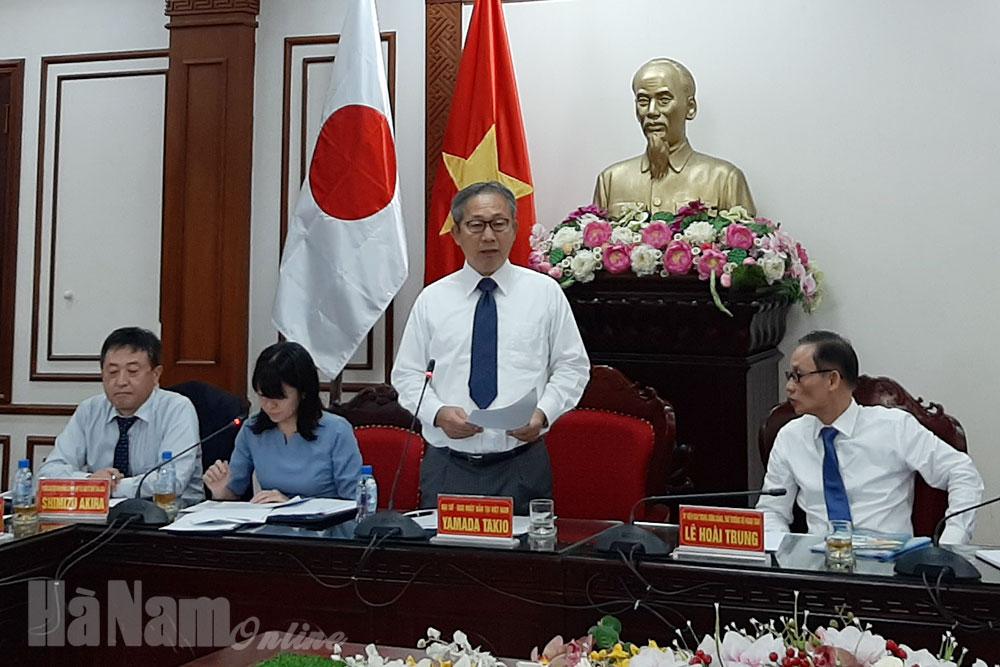 Tọa đàm thúc đẩy kinh tế Hà Nam – Nhật Bản