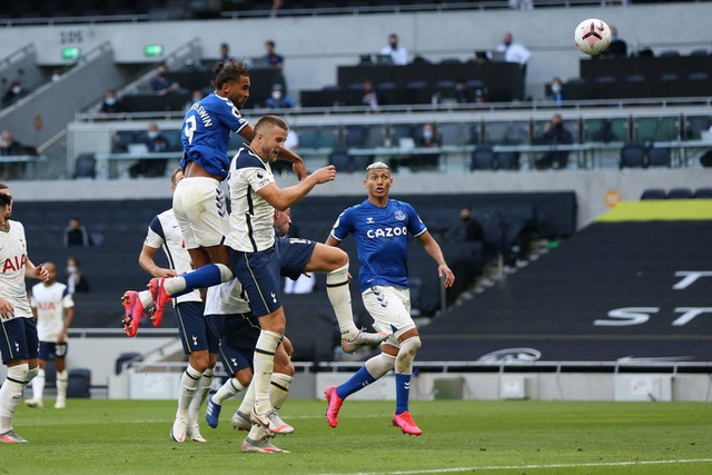 Tottenham thất bại trước Everton Mourinho lại sớm lo lắng