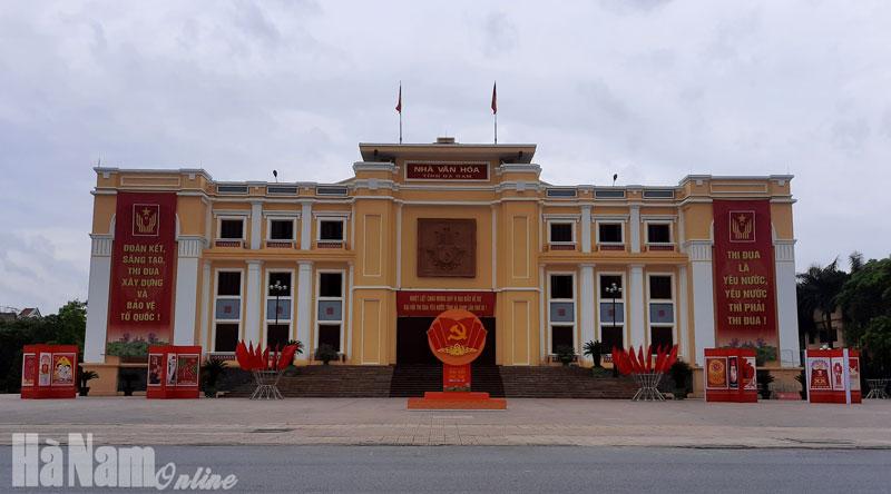 Trên 140000 cụm vi nhét pano khẩu hiệu cờ các loại tuyên truyền về Đại hội Đảng bộ tỉnh lần thứ XX nhiệm kỳ 20202025