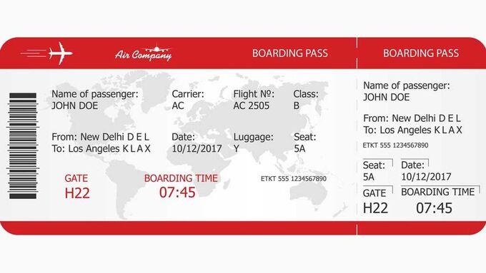 Vì sao khoe vé máy bay lên mạng lại nguy hiểm