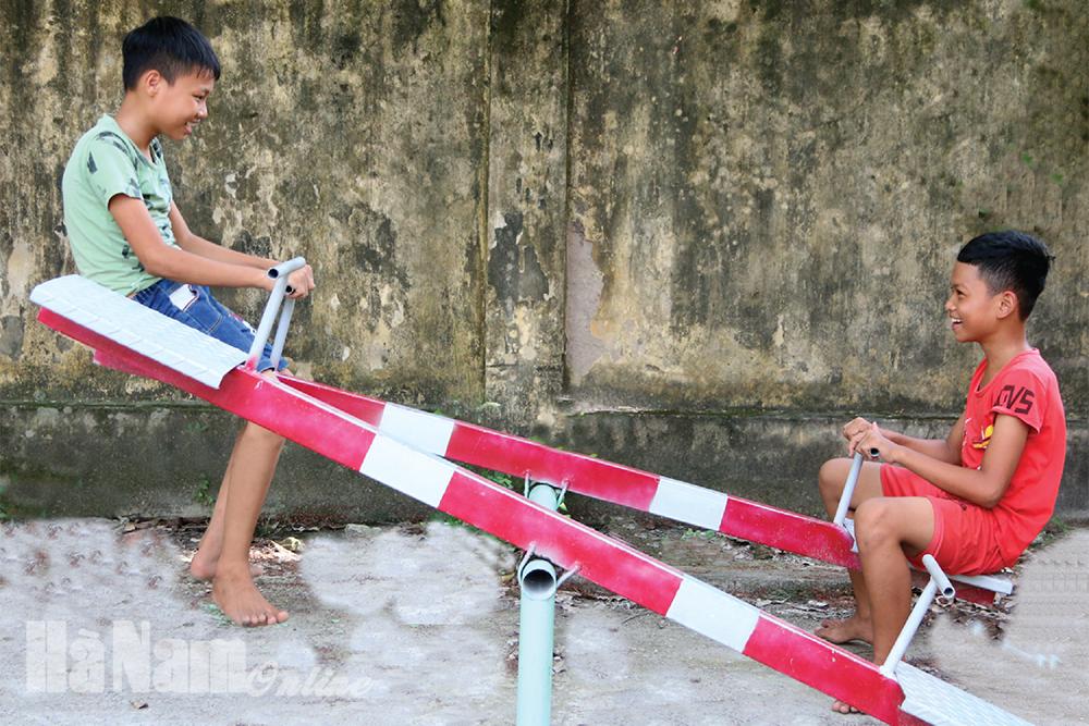 Xã hội hóa xây dựng khu vui chơi cho thiếu nhi ở Kim Bảng
