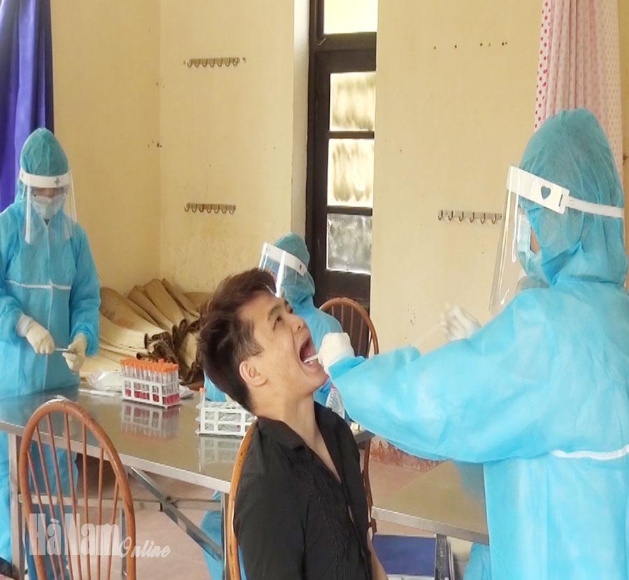 80 công dân cách ly tại Trung đoàn 151 có kết quả xét nghiệm âm tính với SARS CoV2