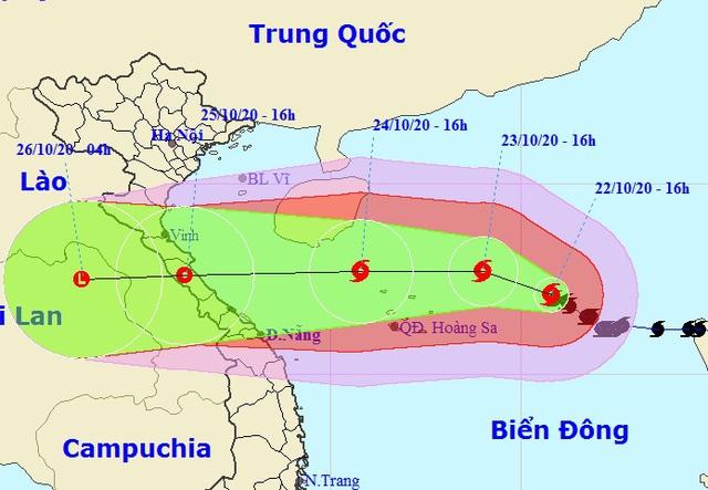 Bão số 8 tăng cường độ tiến gần quần đảo Hoàng Sa