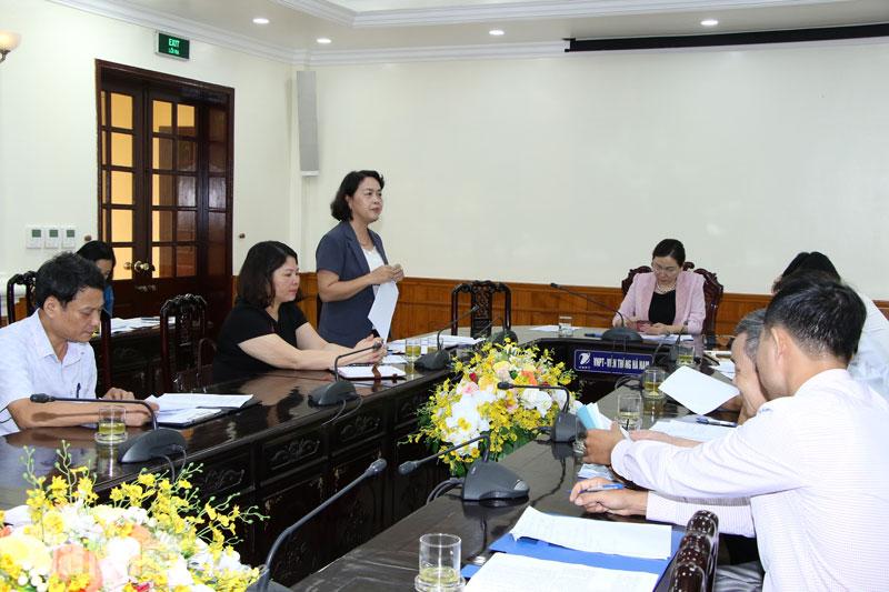 Bình xét hồ sơ đề nghị  xét tặng Giải thưởng Nhà nước đối với công trình Khảo sát Văn hóa truyền thống Liễu Đôi