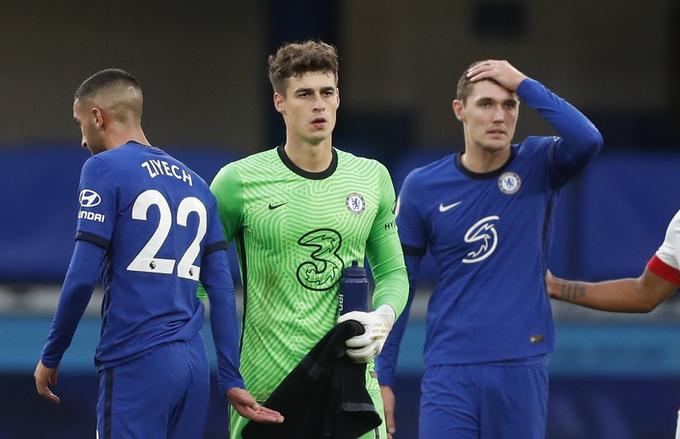 Chelsea bị cưa điểm dù sớm dẫn 20