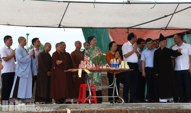 Chùa Đại Giác đúc tượng đồng Phật Hoàng Trần Nhân Tông nặng hơn 2 tấn
