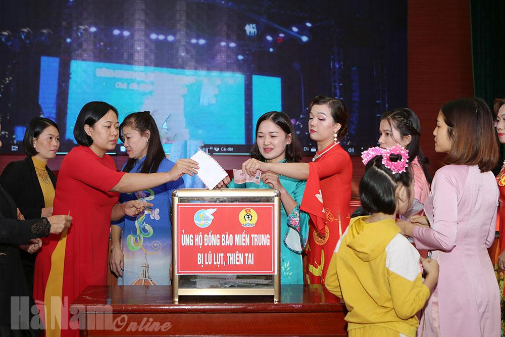 Chung kết Hội thi Nữ cán bộ duyên dáng tài năng huyện Bình Lục lần thứ nhất năm 2020