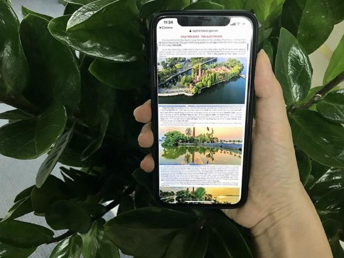 Hà Nội gắn loạt mã QR cho các địa điểm du lịch