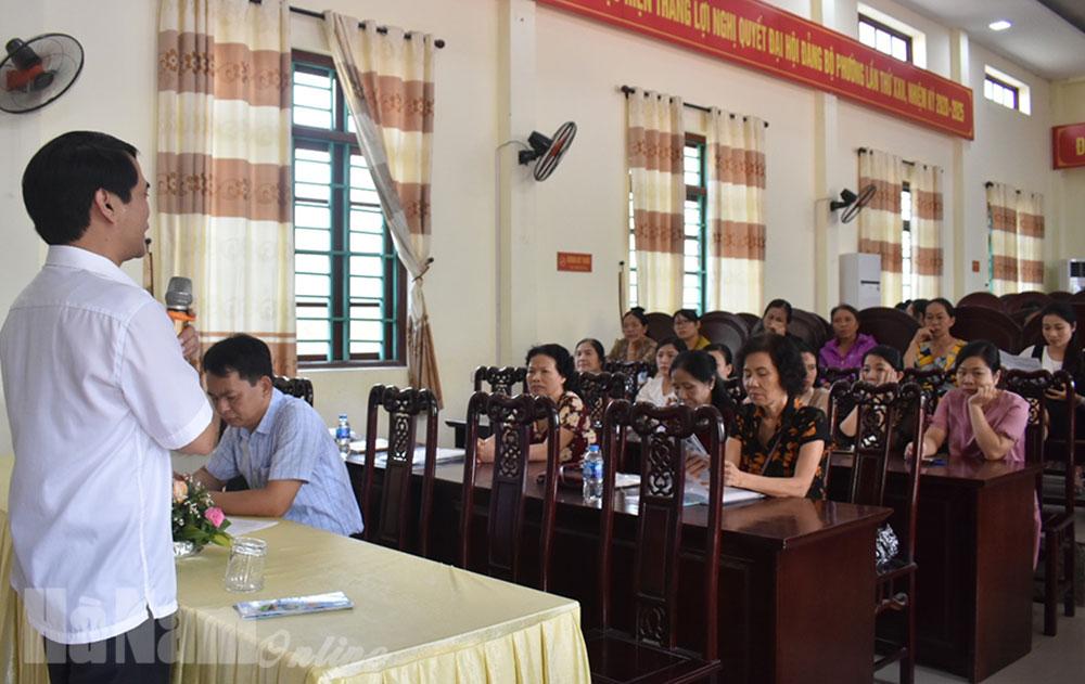 Hội nghị đào tạo bồi dưỡng đội ngũ nhân viên cộng tác viên đại lý thu BHXH BHYT