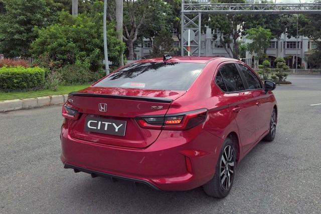 Honda City 2020 bản thể thao lộ diện tại Việt Nam thêm khác biệt với Vios
