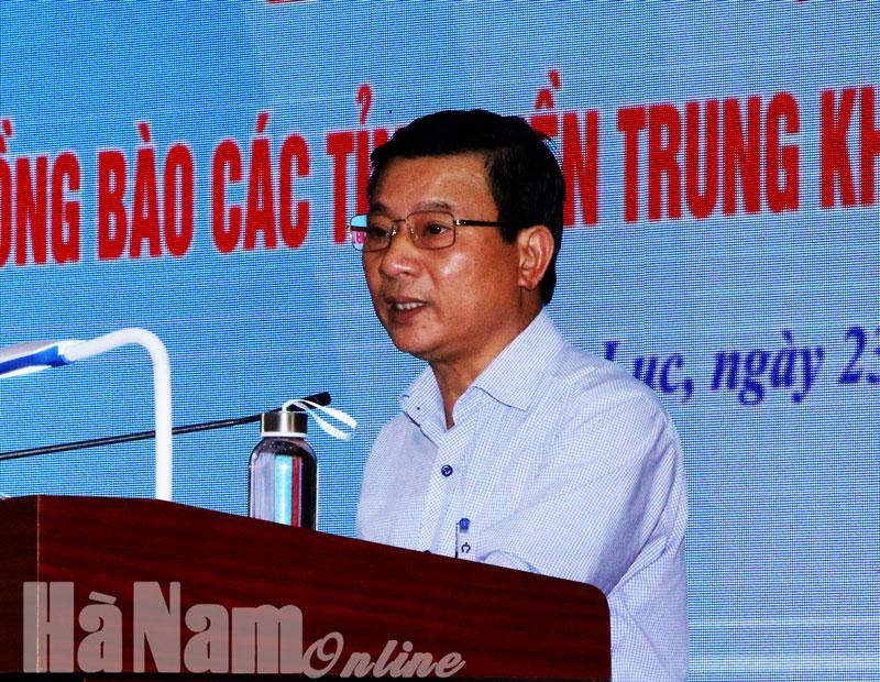 Huyện Bình Lục phát động cán bộ nhân dân ủng hộ đồng bào miền Trung khắc phục thiệt hại do mưa lũ