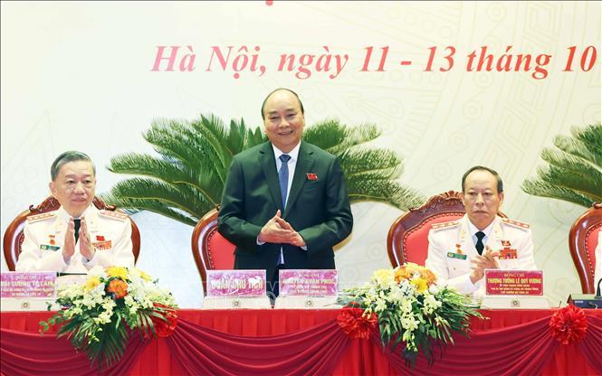 Khai mạc Đại hội Đảng bộ Công an Trung ương lần thứ VII