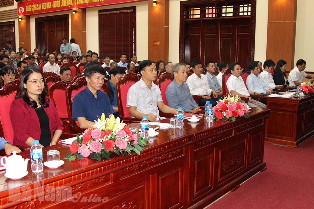 Kim Bảng tập huấn bồi dưỡng nghiệp vụ công tác Đảng cho đội ngũ cán bộ cấp ủy cơ sở