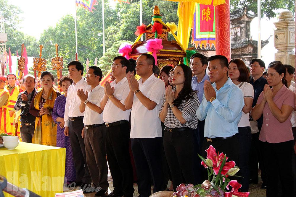 Lễ hội Đền Trần Thương năm Canh Tý