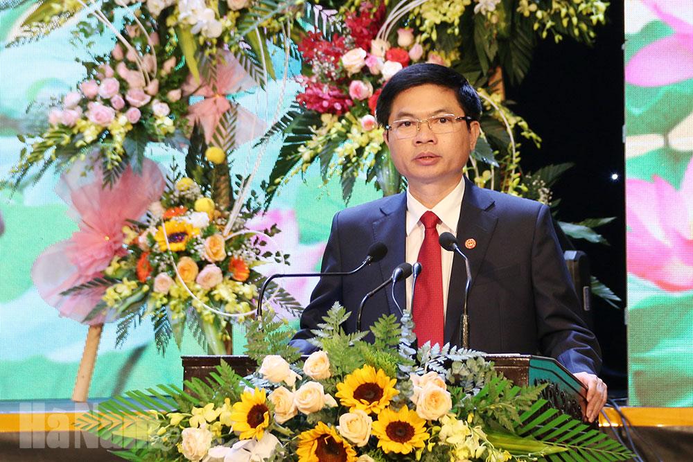 Lễ kỷ niệm 130 năm thành lập tỉnh Hà Nam và đón nhận Huân chương Độc lập hạng Nhất