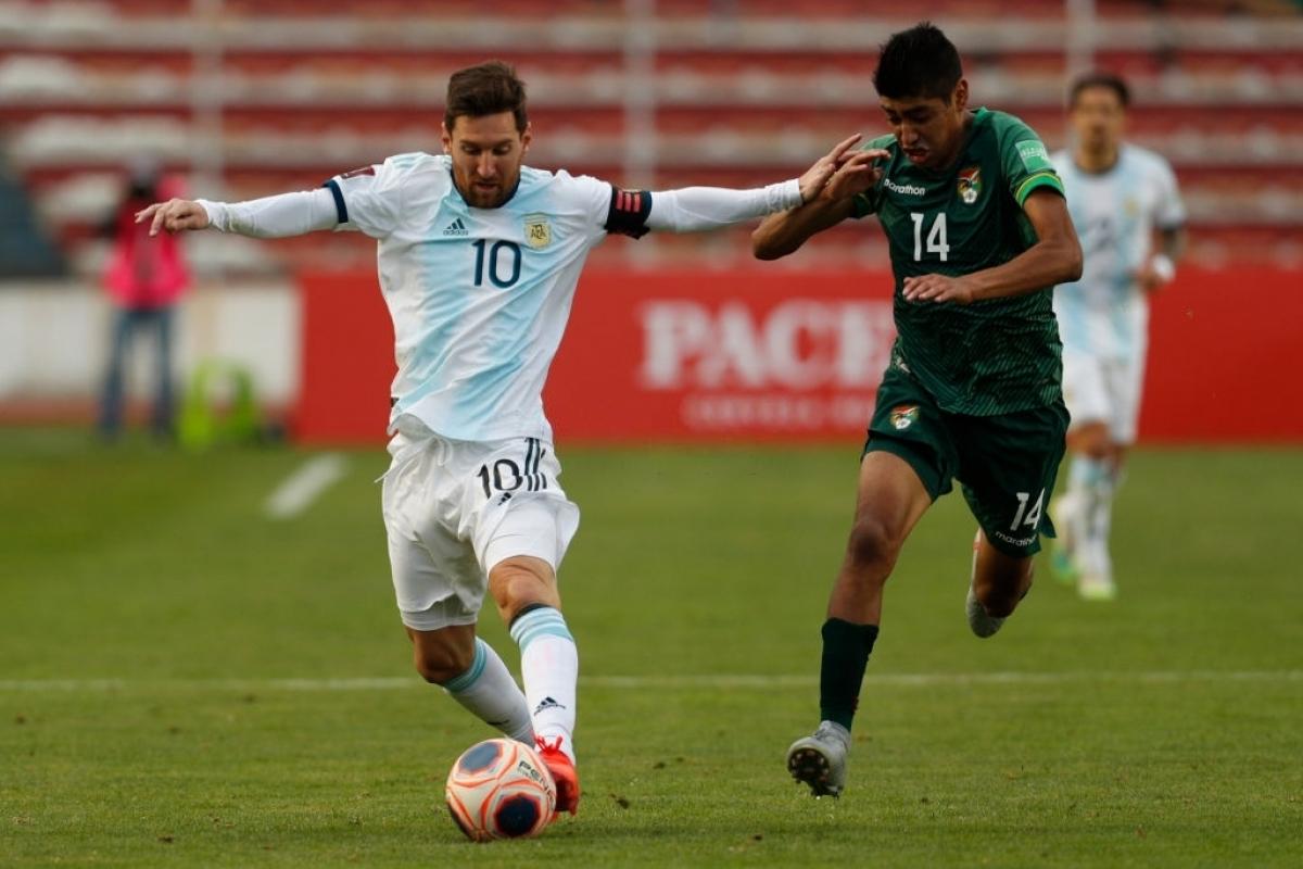 Messi ghi dấu ấn Argentina ngược dòng đánh bại Bolivia