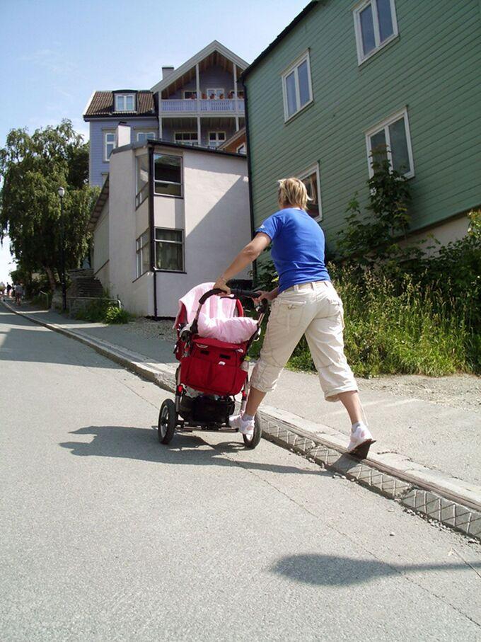 Nơi xe đạp lên dốc không cần đạp