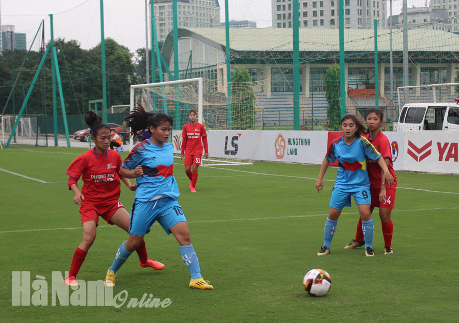 Phong Phú Hà Nam thắng trận mở màn Giải bóng đá nữ U16 quốc gia 2020