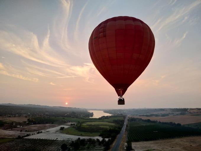 Sắp có tour khinh khí cầu ở Bà Rịa  Vũng Tàu