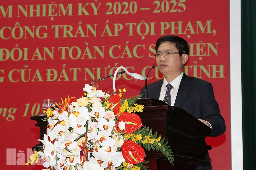 Sơ kết công tác đảm bảo ANTT Đại hội Đảng các cấp nhiệm kỳ 2020 – 2025