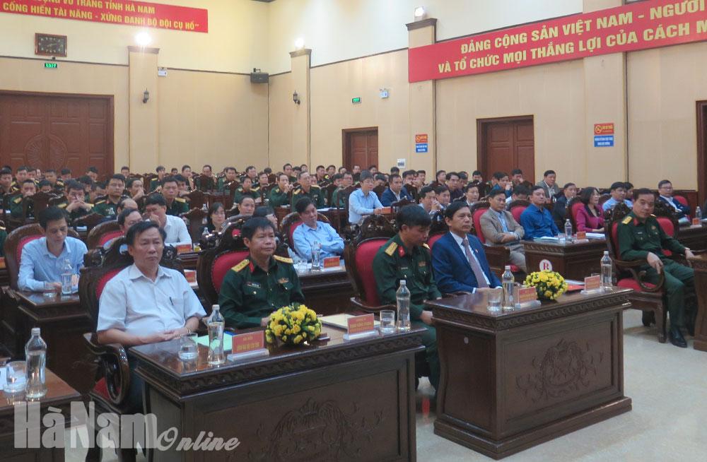 Tập huấn Luật Dân quân tự vệ Luật lực lượng Dự bị động viên