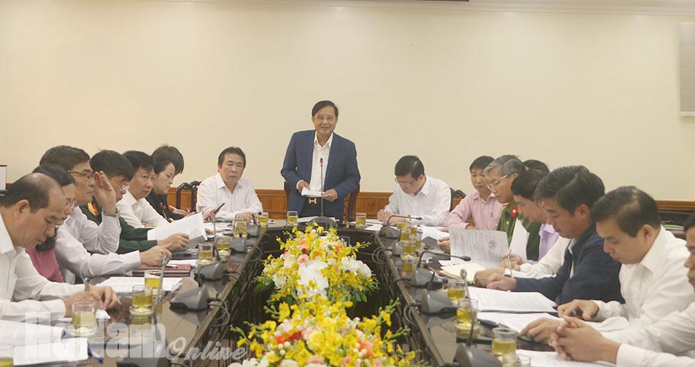 Thảo luận bỏ phiếu đề nghị xét công nhận tỉnh Hà Nam hoàn thành nhiệm vụ xây dựng nông thôn mới năm 2020
