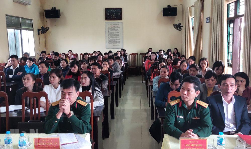 Thị xã Duy Tiên bồi dưỡng kiến thức QPAN đối tượng 4
