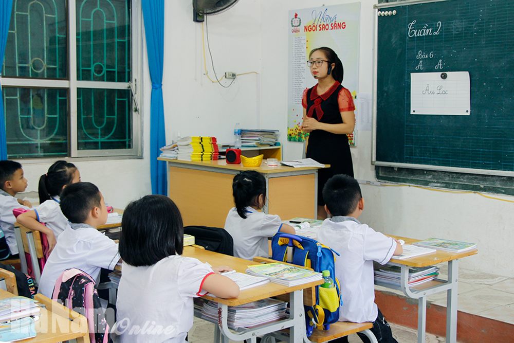Thị xã Duy Tiên với nỗi lo thiếu giáo viên
