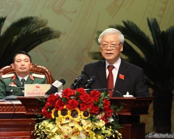 Tổng Bí thư Chủ tịch nước Nguyễn Phú Trọng Tạo chuyển biến toàn diện phát triển Hà Nội nhanh và bền vững hơn