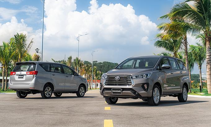 Toyota Innova 2020 ra mắt giá cao nhất 997 triệu đồng