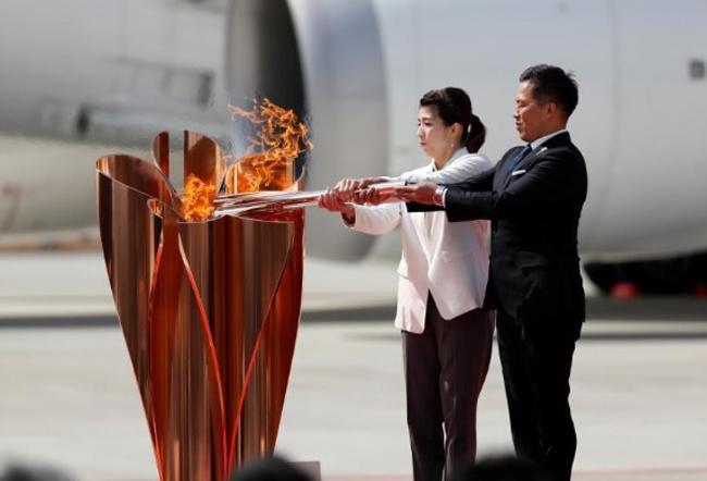 Nhật Bản bắt đầu hành trình rước đuốc Olympic Paralympic tại Tokyo